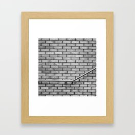 Barre longue Framed Art Print