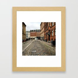 Welcome to Vesterbro Framed Art Print