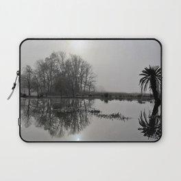 Winter on the Lake Laptop Sleeve