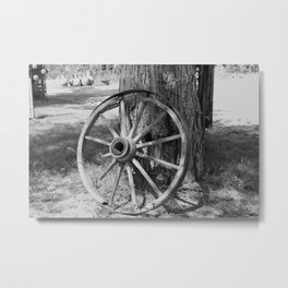 Don't Mind the Scars Metal Print