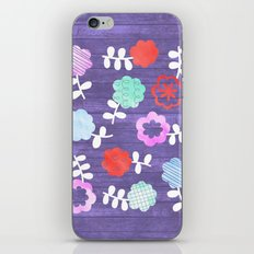 Daisy Dallop iPhone & iPod Skin