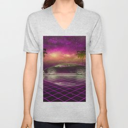 Back to the eighties Unisex V-Neck