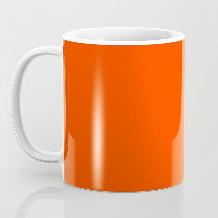 Flaming Orange Coffee Mug
