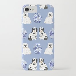 Staffordshire Dogs + Ginger Jars No. 1 iPhone Case