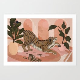 Easy Tiger Art Print