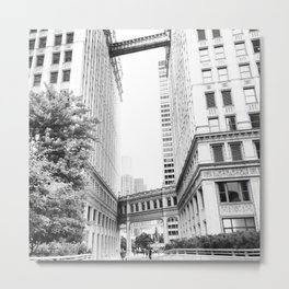 Wrigley Building Metal Print