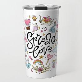 Spread Love Travel Mug