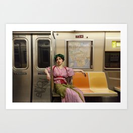 Ladies Who Commute III Art Print