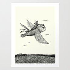 'Leaving' Art Print