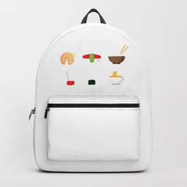 Sushi and Noodles Backpack