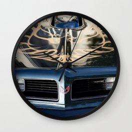Pontiac Wall Clock