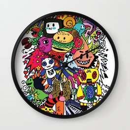 Doodles! Wall Clock