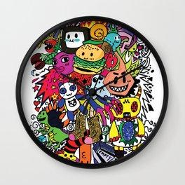Doodles! Wall Clock