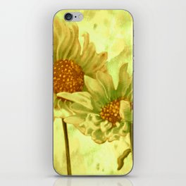 flowers in love iPhone Skin