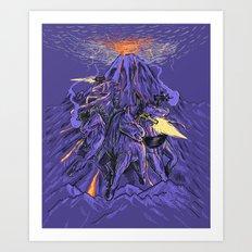 Uzicorns Art Print