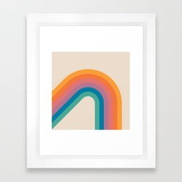 Boca Bending Bow Framed Art Print
