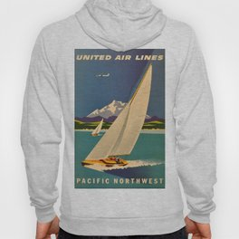 Vintage poster - Pacific Northwest Hoody