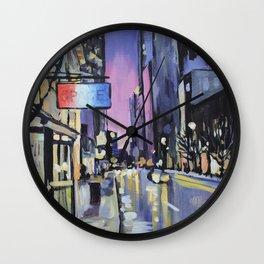 Evening Lights of the Burgh Wall Clock