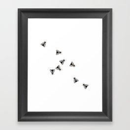 The Flies Framed Art Print