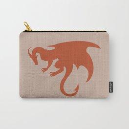 Orange Dragon Emblem Carry-All Pouch