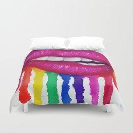 Taste the Rainbow Duvet Cover