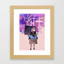 I bless the day I've found you Framed Art Print
