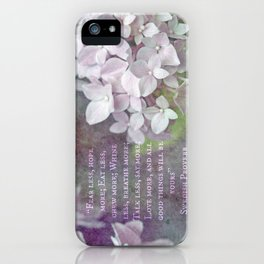 All Good Things Will Be Yours iPhone Case