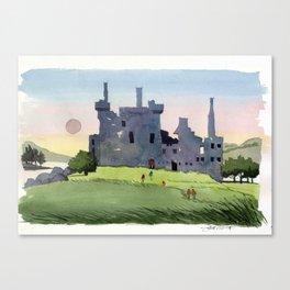 Kilchurn Castle, Scottish Highlands Canvas Print