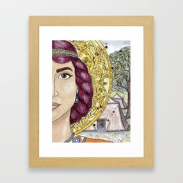 Priscilla Framed Art Print