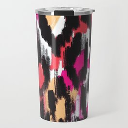 Pop Ikat Pattern Travel Mug