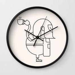 Barista Wall Clock