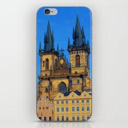 Prague Astronomical Clock iPhone Skin