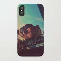 train iPhone & iPod Cases featuring Train by Sam Halleen