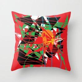Strobe Throw Pillow