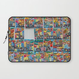 Colorful souvenirs from Bahia, Brazil. | Fine art travel photography print.  Laptop Sleeve