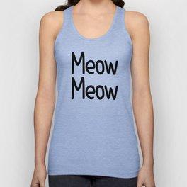 Meow Meow Unisex Tank Top