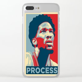 PROCESS - Joel Embiid - 76es Clear iPhone Case