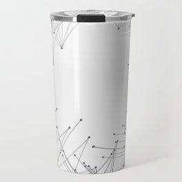 Minimal Geometric Circle Travel Mug