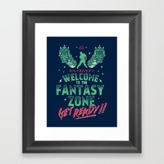 Get Ready! Framed Art Print