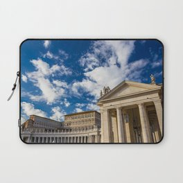 Piazza San Pietro, in the Vatican City; Rome Italy Laptop Sleeve