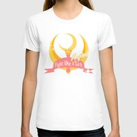 sailormoon T-shirts featuring  Fight like a Magical Girl by Shouho