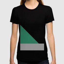 Green Triangle Abstract #minimal #design #kirovair #buyart T-shirt