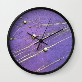 abstract planet constellation Wall Clock