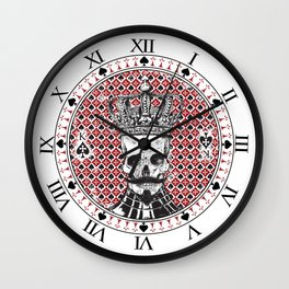 Long live the King! Wall Clock