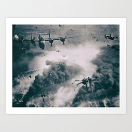 Bombers and Wings Art Print