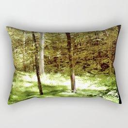Forest Through the Trees Rectangular Pillow