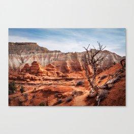 Picturesque Trail through Kodachrome Basin State Park Canvas Print