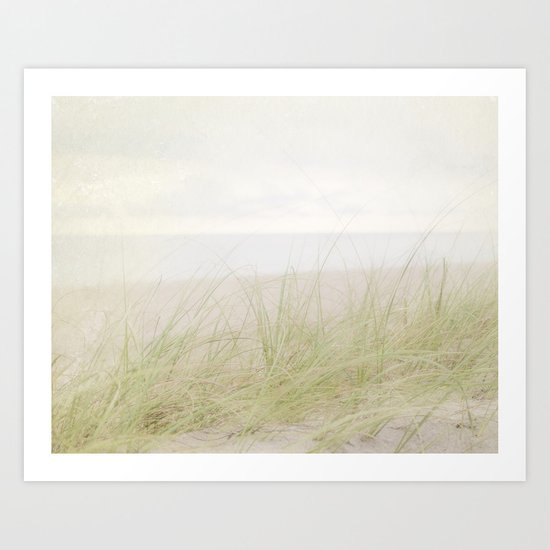 Pale Beach Art Print