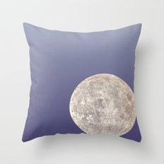 Moon Bounce Throw Pillow