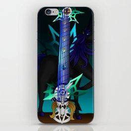 Fusion Keyblade Guitar #187 - Unicornis' Keyblade & Young Xehanort's Keyblade iPhone Skin